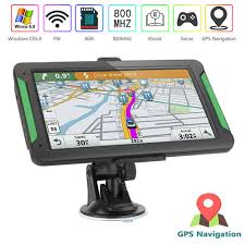 100 Gps Systems For Trucks Details About 9 7 Car Truck GPS Navigation Free Lifetime Maps 8GB 256MB Navigator Sat Nav