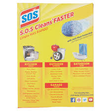 Drill In Cabinet Door Bumper Pads by S O S Steel Wool Soap Scrubber Sponge Pads 18 Ct Walmart Com