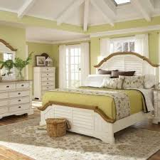 White Bedroom Furniture With Brown Top