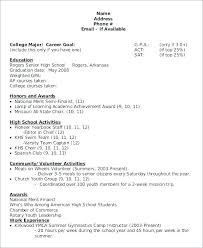 Good Resumes Templates A Resume Template Scholarship Cover Letter Ideas