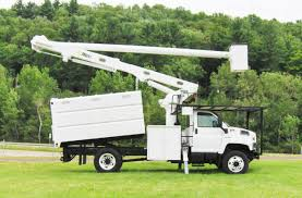 2004 GMC 7500 BUCKET BOOM TRUCK FOR SALE #583004