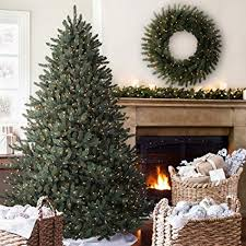 Balsam Hill Classic Blue Spruce Prelit Artificial Christmas Tree 7 Feet Clear Lights