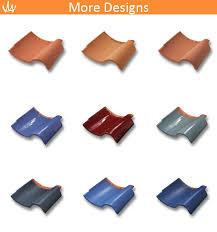 color rustic s shape roof tiles types buy s shape roof tiles