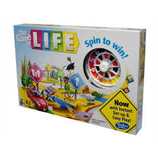 Game Of Life Board W Spinner