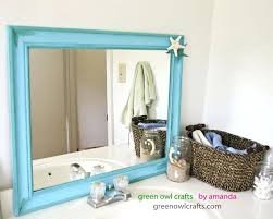 Beach Themed Bathroom Mirrors by Beach Themed Bathroom Mirrorsbeach Themed Shower Curtains