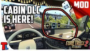 Cabin Accessories DLC | 4K 60 Fps | Euro Truck Simulator 2 Best Mods ...