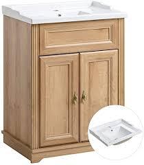 lomadox badezimmer waschtisch unterschrank inkl 60cm