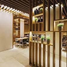 104 Vertical Lines In Interior Design A Complete Arrangement Of A Public Place Patterns Of Horizontal And Created Divisorias De Ambientes Divisorias Achados De Decoracao