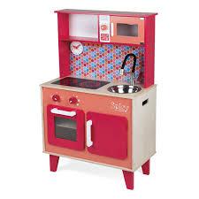 cuisine enfant 2 ans grande cuisine bois spicy janod king jouet cuisine et dinette