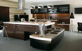 A Unique Ultra Modern Kitchen With L Shaped Cabinets Placed In Different Elevations