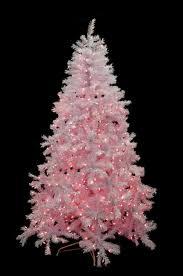 Vickerman Pink Christmas Tree by 7 5 U0027 Pre Lit White Cedar Pine Artificial Christmas Tree Pink