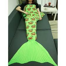 Mermaid Pumpkin Pattern by Halloween Pumpkin Pattern Knitted Wrap Mermaid Tail Blanket In