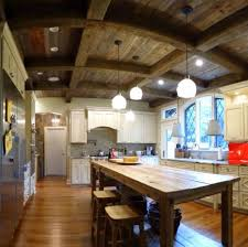 Rustic Decor Above Kitchen Cabinets
