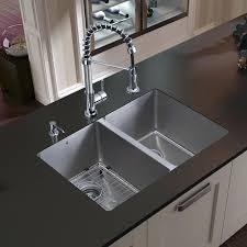 Kohler Langlade Smart Divide Sink by Kohler Undermount Kitchen Sink Stainless Steel Apron Front Sink