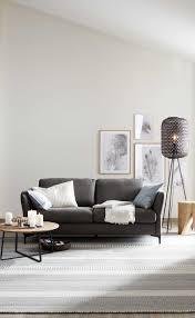 wohnzimmer idee sofa timeless grau schöner wohnen kollektion