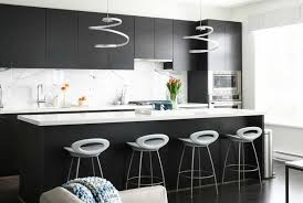 interesting black kitchen design ideas home decorating designs