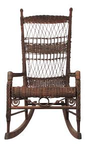 Antique Natural Wicker Rocking Chair Porch Rocker | Chairish Philippines Design Exhibit Dirk Van Sliedregt Rohe Noordwolde Rattan Rocking Chair Depot 19 Vintage Childs White Wicker Rocker For Sale Online 1930s Art Deco Bgere Back Plantation Wicker Rattan Arm Thonet A Bentwood Rocking Chair With Cane Back And Childrens 1960s At Pamono Streamline Lounge From The West Bamboo Lounge Sweden Stock Photos Luxury Amish Decaso