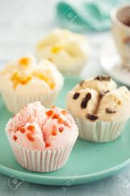 Thai Fruity Fluffy Cupcake For Tea Break Stock Photo Picture And