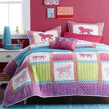 Twin Horse Bedding by Giddy Up Horse Kids Quilt The Company Store