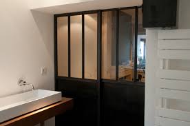 separation salle de bain séparation vitrée salle de bain bigood
