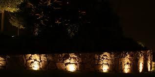 Salt Lamp Warning Hoax by Salt Lamp Hoax Uplighting Of Stone Retaining Wall Koubitz