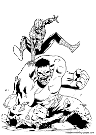 Unique Hulk Coloring Page 83 In Seasonal Colouring Pages With