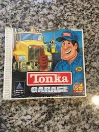 100 Tonka Truck Games Sealed Windows PC 1998 CDRom Computer Game Garage