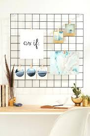 Urban Outfitters Wall Decor Side Of Fridge Wire Grid Prisma
