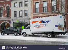 100 Truck Moving Rentals Budget Rental Truck For Moving On A Main Street In Kingston