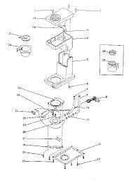 Proctor Silex Model A415AL Coffee Tea Maker Genuine Parts