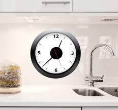 horloge de cuisine autocollants horloges pour cuisine tenstickers