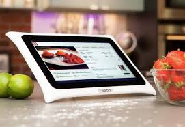 tablette cuisine qooq tablette qooq v3 android 10 1 blanche kitchenproof accessoires