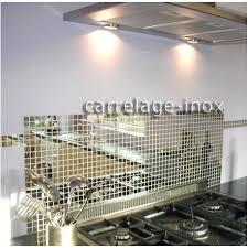 cuisine mosaique tole inox mosaique credence cuisine cm miroir 25