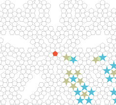 Numpy Tile 3d Array by Computational Geometry Fill The Plane With Pentagons As Tightly