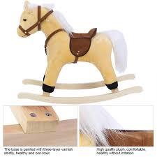 Amazon.com: Baby Rocking Horse, Beautiful Wooden Animal ... Lovely Vintage Wooden Rocking Horse Sanetwebsite Restored Wood Rocking Horse Toy Chair Isolated Clipping Path Stock Painted Ponies Competitors Revenue And Employees Owler Rockin Rider Maverick Spring Chair Rocard This Is A Hand Crafted Made Out Of Pine Built Childs Personalized Rockers Childrens Custom Large White Spindle Rocker Nursery Fniture Child Children Spinwhi Fantasy Fields Knights Dragon Themed Kids Lady Bug 2 In 1 Baby Ride On Animal