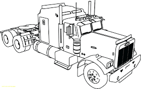 Ultimate Tanker Truck Coloring Pages Lego Semi Tractor And Sheets ...
