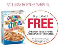 Jewels MyMixx Freebie This Week Is Not A But BOGO Head Over And Clip Cinnamon Toast Crunch 122 Oz Cocoa Puffs 118 Or Trix Cereal