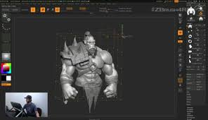 ZBrush 4R8 Streaming Event Full Broadcast CGMeetup Community For