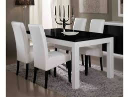 table de cuisine moderne table de cuisine blanche chaise et bois laquee design eliptyk