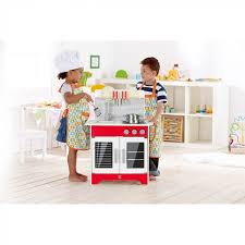 kitchen with accessories by hape
