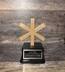 lustige sternchen trophäe für ein verrücktes jahr 2020 sports trophy award bracket chion chionship team award personalisiert