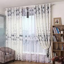 shabby chic blumendruck leinwand grau schöne wohnzimmer