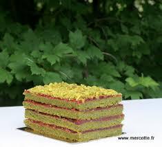 cake a la pate de pistache cake pistache framboise de jérôme chaucesse la cuisine de