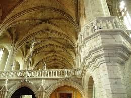 abbaye de la chaise dieu la chaise dieu abbaye la nef photo de l abbaye de la chaise