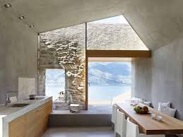 100 Modern Houses Interior Makeover Of An Old Stone House With Views Of Lake