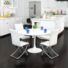 Shop 18-inch High Zuo 'Delfin' Chrome And Steel White Dining Chair ... Elements Intertional Max Casual Counter Height Table Set Aamerica Mariposa Leg Ding W 2 18 Inch Leaves Mrprw6200 Tables Colorado Liberty Fniture Ocean Isle Rectangular With Shop Distressed Black Metal Chair 18inch Seat Primo 9308 Dintp Leaf Powell Room Basil Antique Brown Side Doll Lovely Pink And White Wood Faux Leather Midcentury 18inch Inch Doll Fniture Table Chairs For American Girl Og Awesome Steve Silver For Your Xcalibur 09