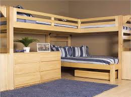 build your own bunk bed with desk woodworking plans