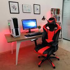 pc gamer bureau siege pc gamer achat fauteuil gamer aerocool ac120 air rgb chaise