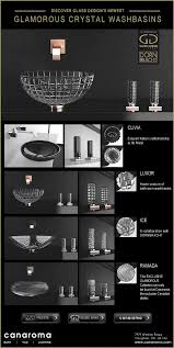 Sherle Wagner Italy Sink by Glass Design Vessel Sink With Dornbracht Bath Faucets Wall Mounted