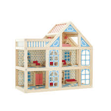 KidKraft Majestic Mansion Pretend Play Wooden Dollhouse With